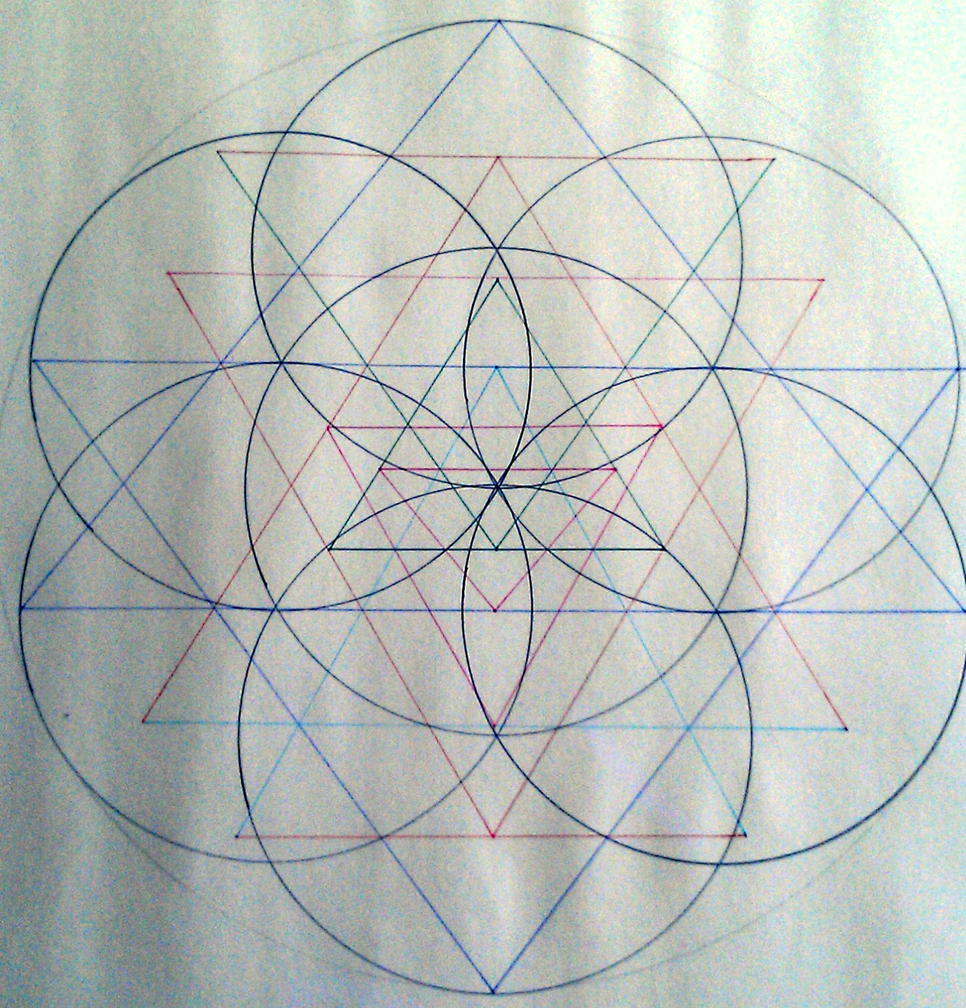The pineal gland symbol of manifestation the sri yantra sriyantraflower biocorpaavc Choice Image
